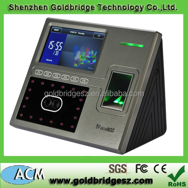 Face & Fingerprint Time Attendance and Access Control Terminal (ACM-IFACE800)