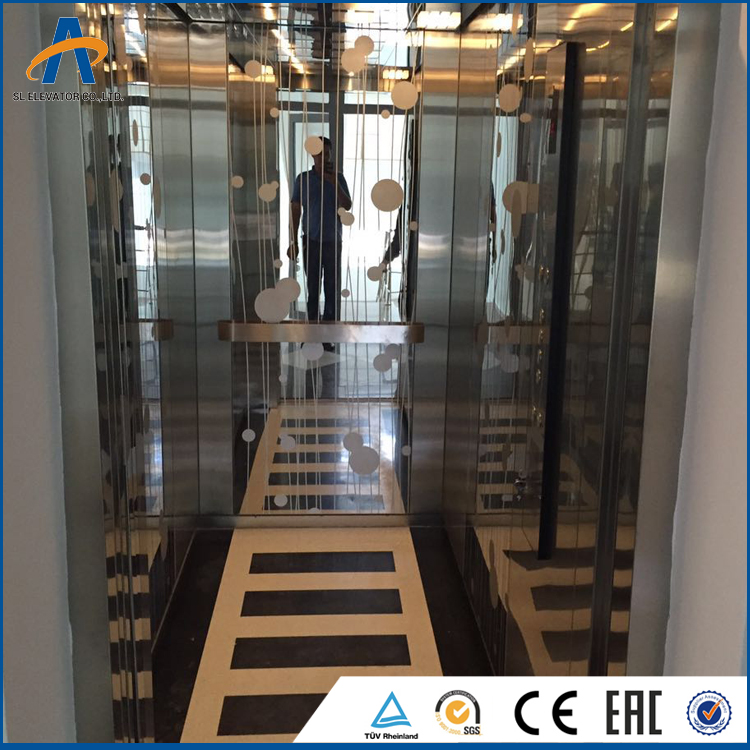 High quality moving walkways specification 6 person passenger elevator
