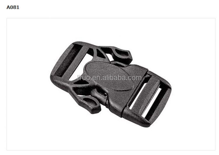 New coming strong quick release plastic buckle for bag