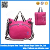 New fashion hot sale big size light women foldable bag handbag with handle
