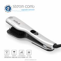 Salon Hair equipment hair straightening brush steam comb in good quality