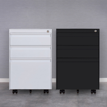 Modern office equipment single metal storage lockable filing cabinet with drawer