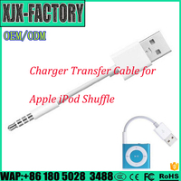 Top 3 factory!Easy Operation usb audio cable for Apple Ipod 3.5mm Jack to USB Cable SHUFFLE CABLE with chip