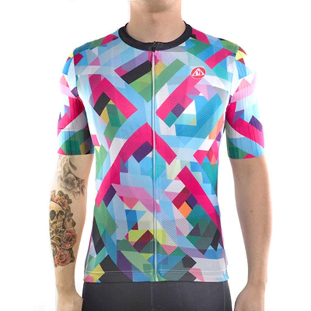 Cycling Jersey MTB Fit Short Sleeve Bicycle Clothing Bike Wear Shirt Jackets