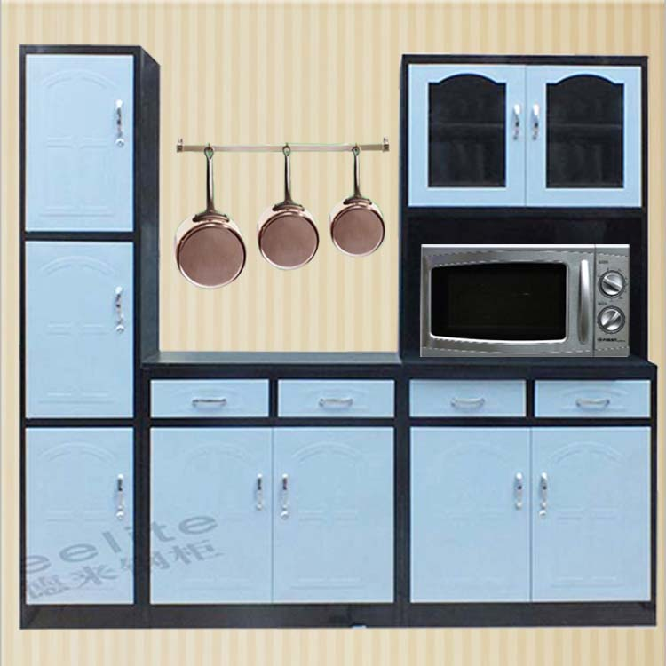 Made In China Steel Kitchen Furniture Set Ready Made