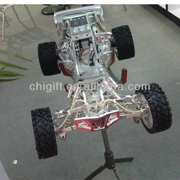 alloy baja 1/5 gas rc car 30.5cc with walbro and NGK