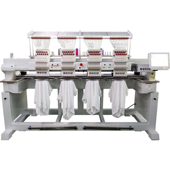 4 heads cap embroidery machine with free machine embroidery designs