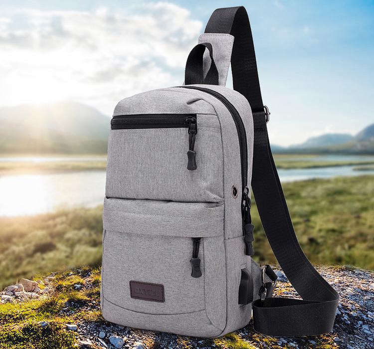 a0734f126d4c New arrival oxford men chest pack single shoulder strap back bag crossbody  bags for women sling