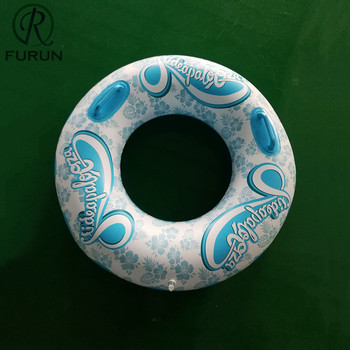 Customized Promotional Gift Inflatable PVC Printed Swimming Rings