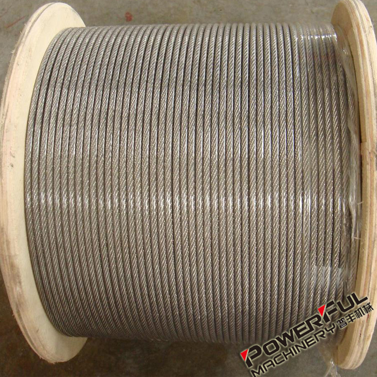4mm Thin and Strong Non Rotating Metal Wire Rope with Ends Tensioner and Sheaves Hardware