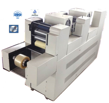 china machine space saved flexo tape  printing machine two color
