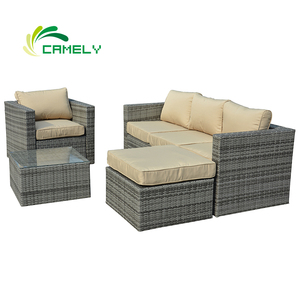 All-Weather rattan sofa sale discount metal sofa set designs outdoor patio sofa bed from China