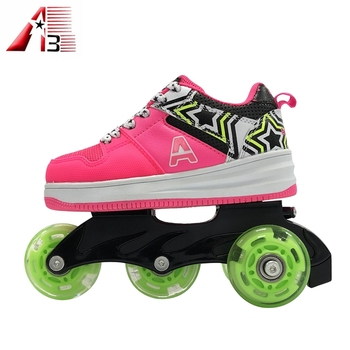 918ac9013159d9 Roller roller shoes manufacturer OEM low price kids 4 wheels roller skate  shoes
