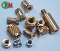 High precision brass cnc turned hardware fittings