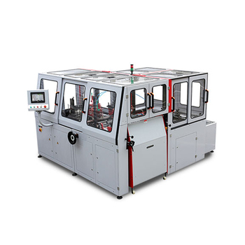 ST036B-RZL Automatic Hardcover Case Making Machine for Round Corner