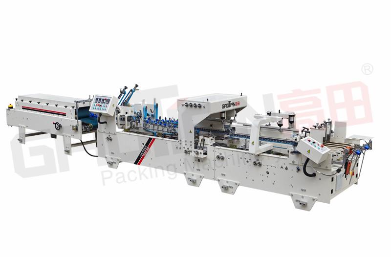automatic prefolding folder gluer / automatic pre folder folder gluer machine / pre-folding for medicine box