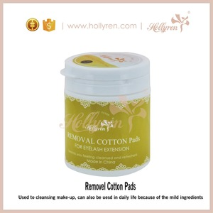High Class Makeup Remover Cotton Pads for Eyelash Extension and daily