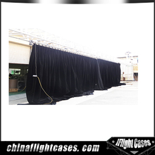 flam resistant custom design 80% Blackout stage curtains