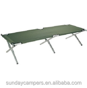 Aluminum Outdoor Folding Factory Price Wholesale Army Camping Bed