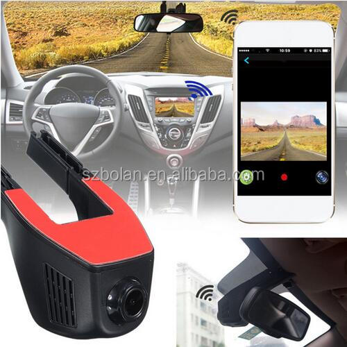 [BOLAN, Better & Reasonable Price] Wifi Car DVR Registrator Video Recorder Camcorder Dash Camera with Night Version Back Camera