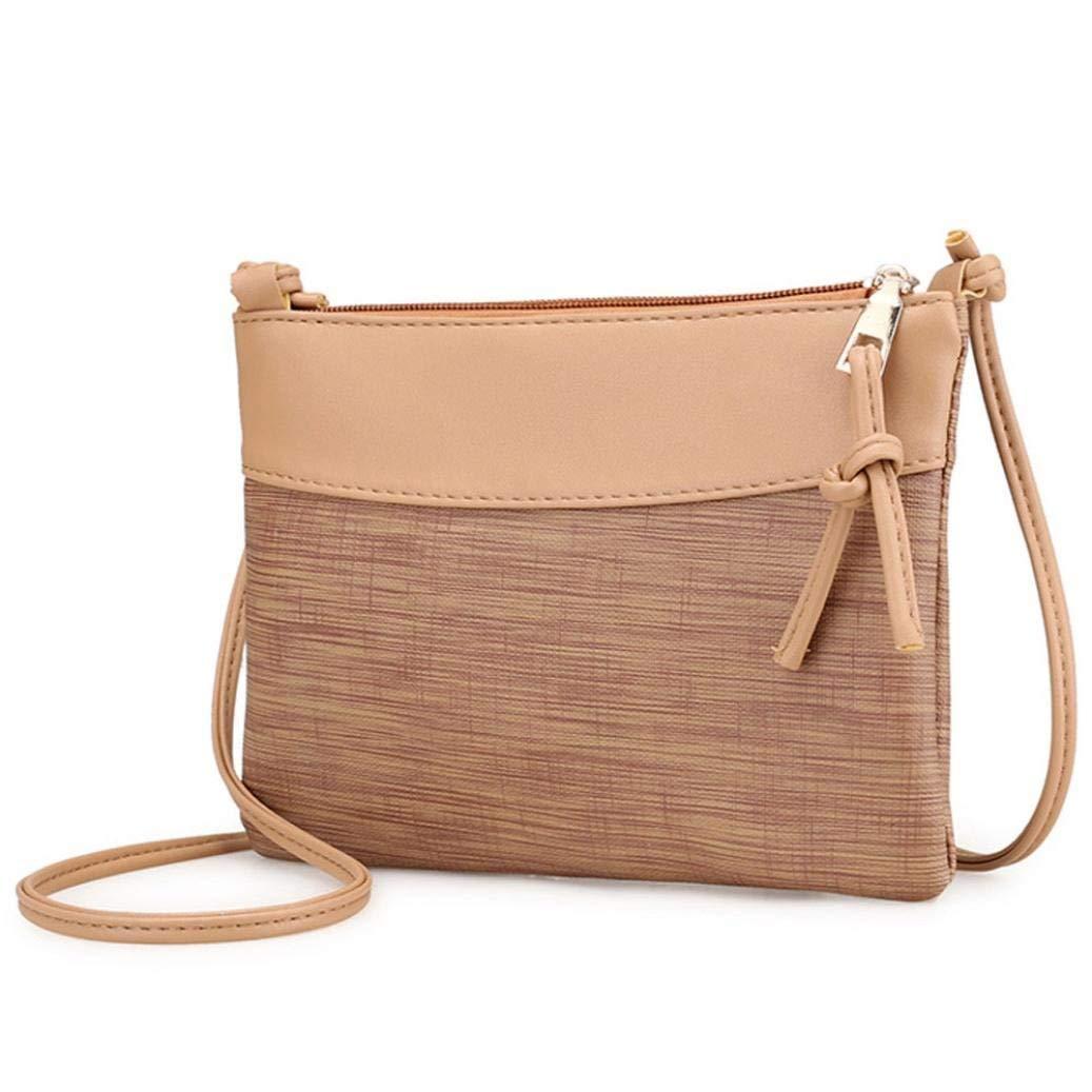 FitfulVan Clearance! Hot sale! Bags, FitfulVan Women Retro Bag Shoulder Bag Messenger Bags Tote Handbag (Khaki)