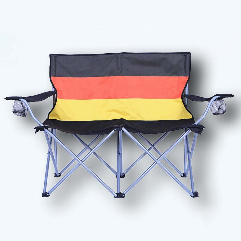 Beach Folding Chair Metal Fishing Chair Camping Lounger
