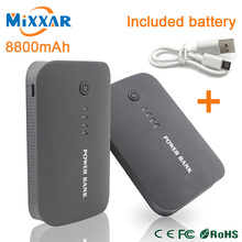 Upgrade 7800mAh Double USB Powerbank External Mobile Backup Battery Power Bank Portable Charger  For Mainstream Smartphone