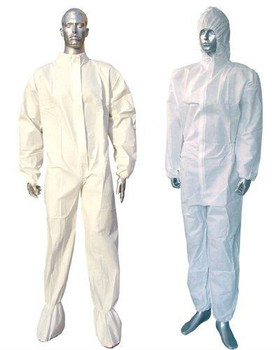 CAT III Type 5/6 disposable SMS protective clothing
