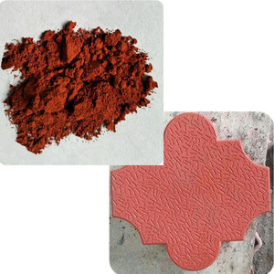 paver tiles pigment synthetic iron oxide red