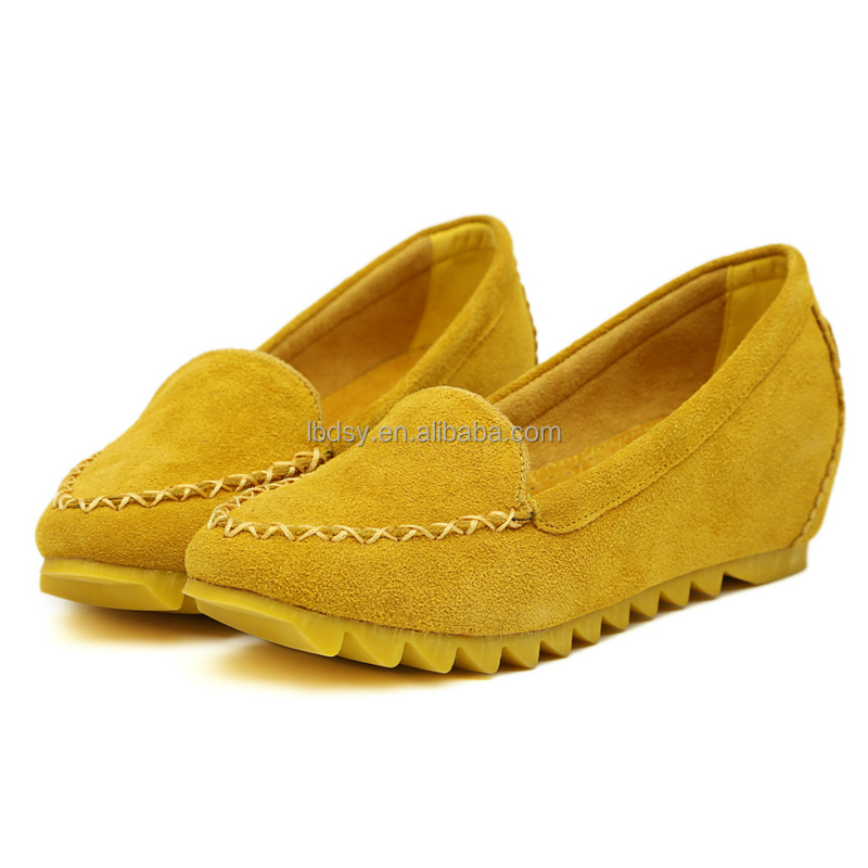 China Lady Insole Increasing bright color height elevator shoes