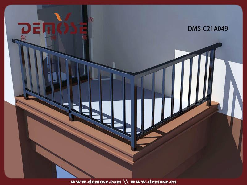 Aluminum railing prices black deck baluster