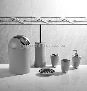 Italy Design Bathroom Accessories Set With 7pcs