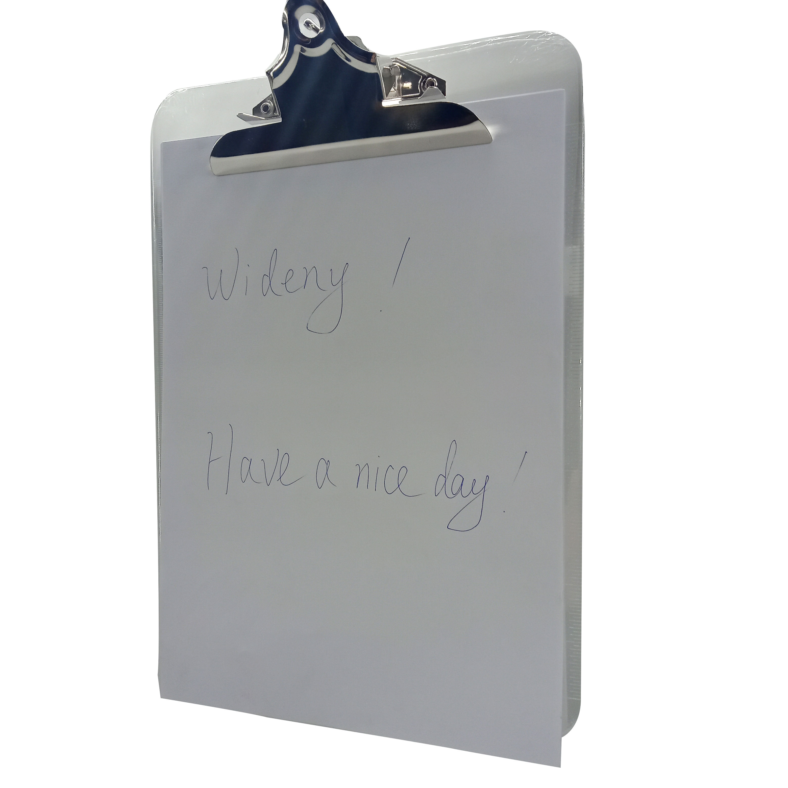 Free Sample Supply Custom Letter Size A4 Low Profile Clip Transparent  Colorful Waterproof Plastic Clipboard - Buy Clipboard,Clipboard  A4,Waterproof