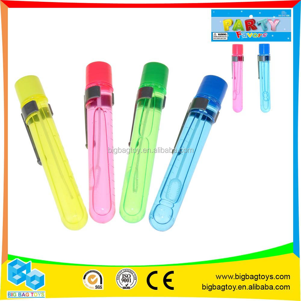 cheap price Party Dazzling mini soap bubble wand toys for kids