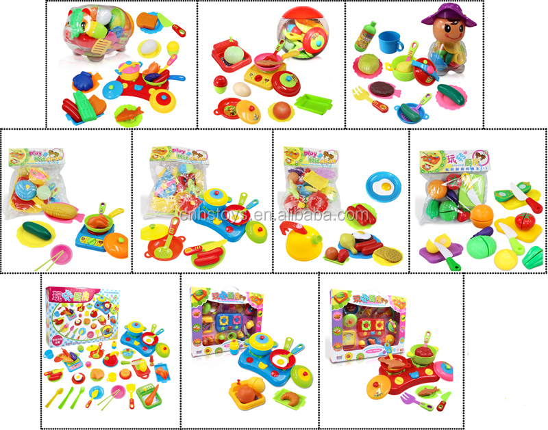 emulational high quality modern kitchen toy set