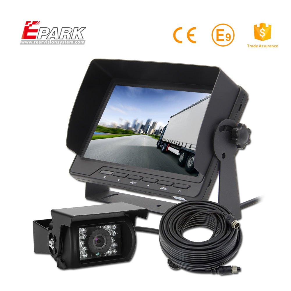 High quality cheap split screen monitor system camera and