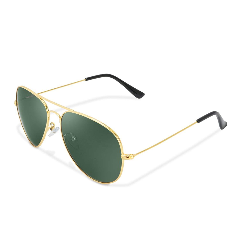 Aviator Sunglasses - Polarized UV Protection Classic Sunglasses Fashion Outdoor Shades for Men Women Metal Frame