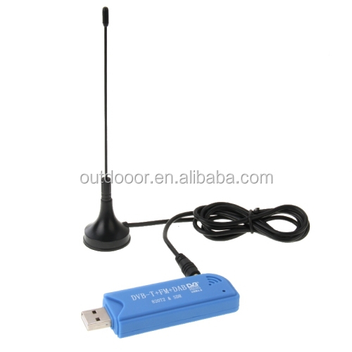 China Wholesale cheap Mini USB 2.0 Digital DVB-T TV Stick, Support FM + DAB + 820T2 + SDR