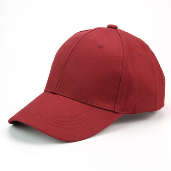 Hotsell Plain Colored Unstructured Low Profile Twill Red Baseball ... 820cf484f7a