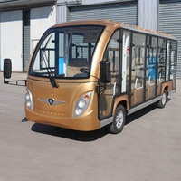 Eco-friendly tourist sightseeing bus adult electric car