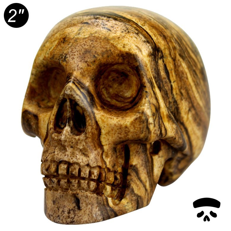 Wholesale small 2 inch skull birthday gifts for girl child#DOI