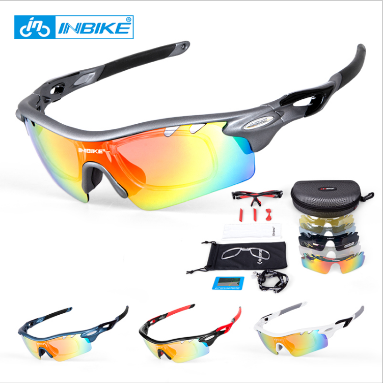 Unbreakable Frame Sport Motocross Goggles polarized cycling sunglasses