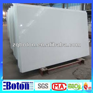 <On Sale>White Artificial Crystallized Glass Quartz slab/ Crystallized Glass Panel/Pure White Artificial Marble For Floor,etc