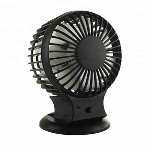 Summer Portable USB Powered Double Blades Mini Desktop Table Fans for PC Laptop Notebook
