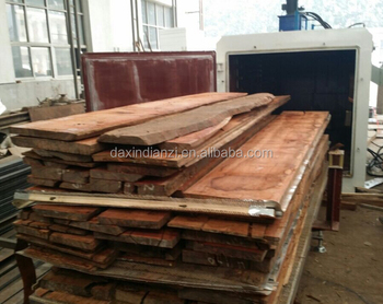 High frequency wood dryer,vacumm kiln dryer for mahogany furniture