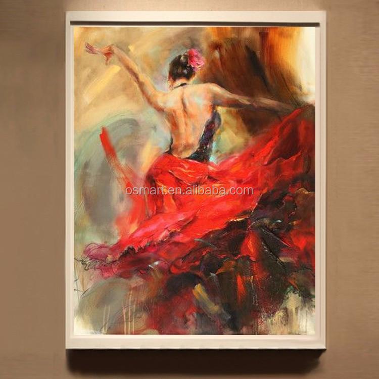 reproduction 100 main flamenco espagnol femme chaleur