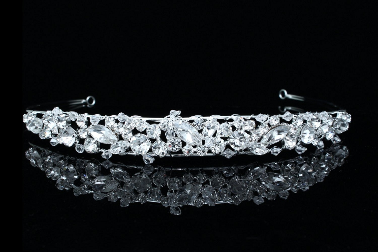 Handmade Princess Bridal Wedding Prom Rhinestone Crystal Headband Tiara
