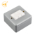 Outdoor british power 3 gang 10A metal clad wall lighting switch