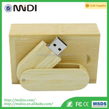 wedding gift customized wooden USB flash drives with box, pen drive 2gb-32gb for wedding