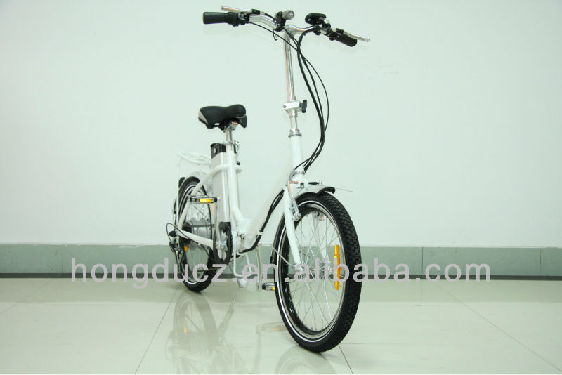electric foldable pas bike shimano 6 speed